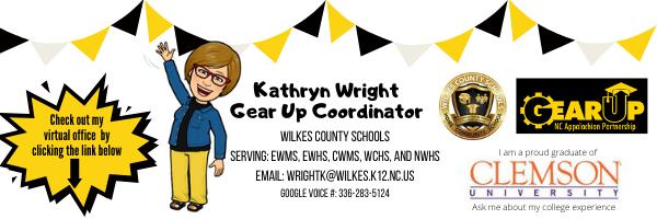 Kathryn Wright, Gear Up Coordinator