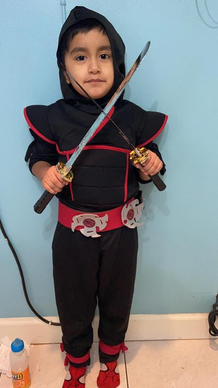 Matias as a ninja
