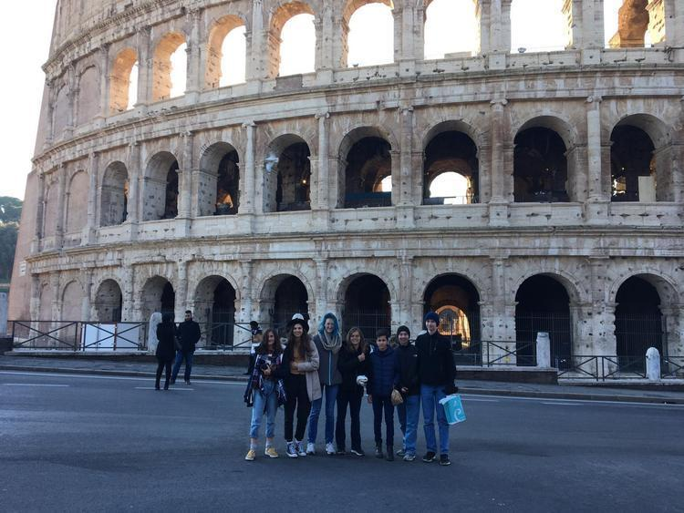 SCM High School Creates Videos and Blogs to document their trip to Rome, Italy Featured Photo