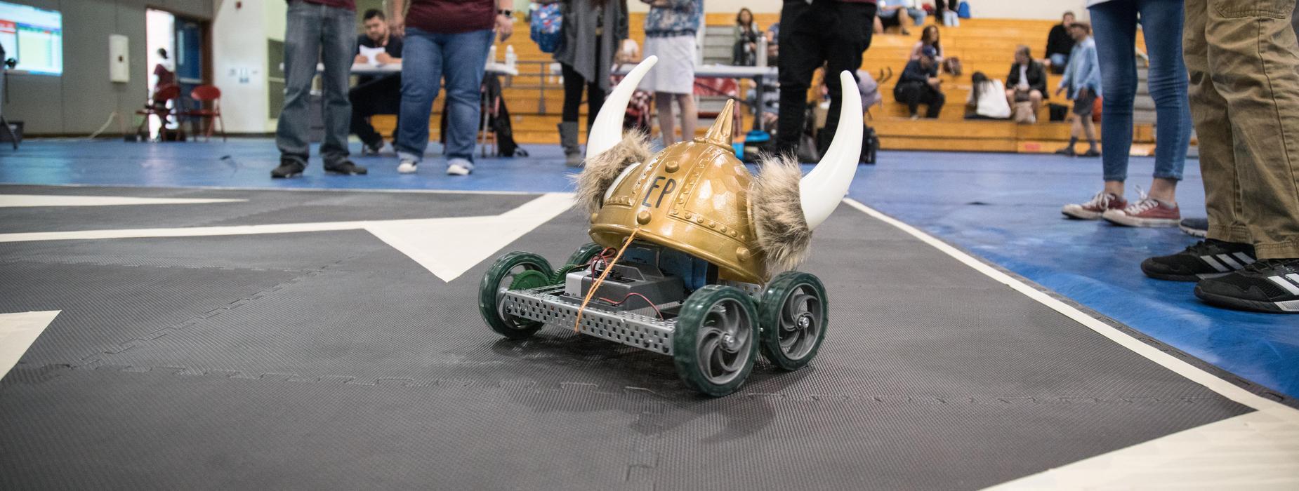 Emery Park Robot at VEX Robotics Event