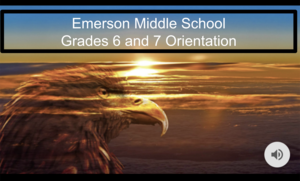 Emerson Middle School Virtual Orientation
