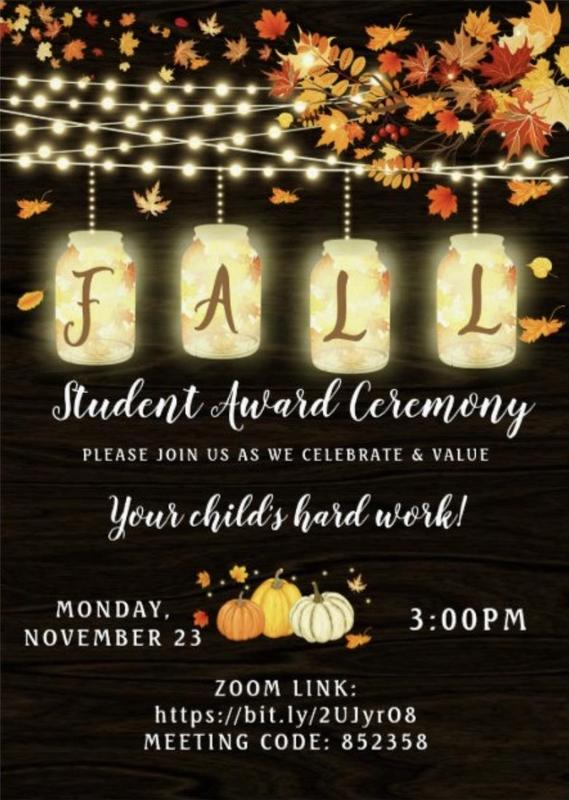 Fall Award Ceremony