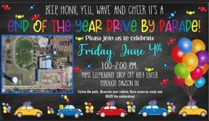 flyer for the parade