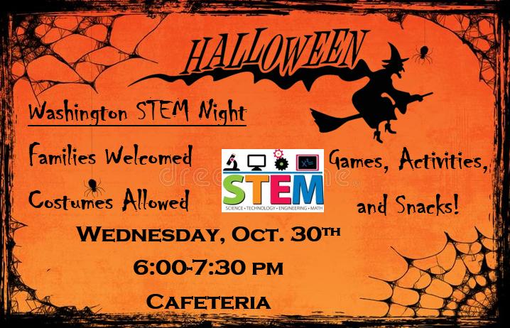 Halloween STEM Night Featured Photo