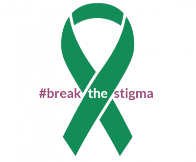 Green Ribbon Break the Stigma Image