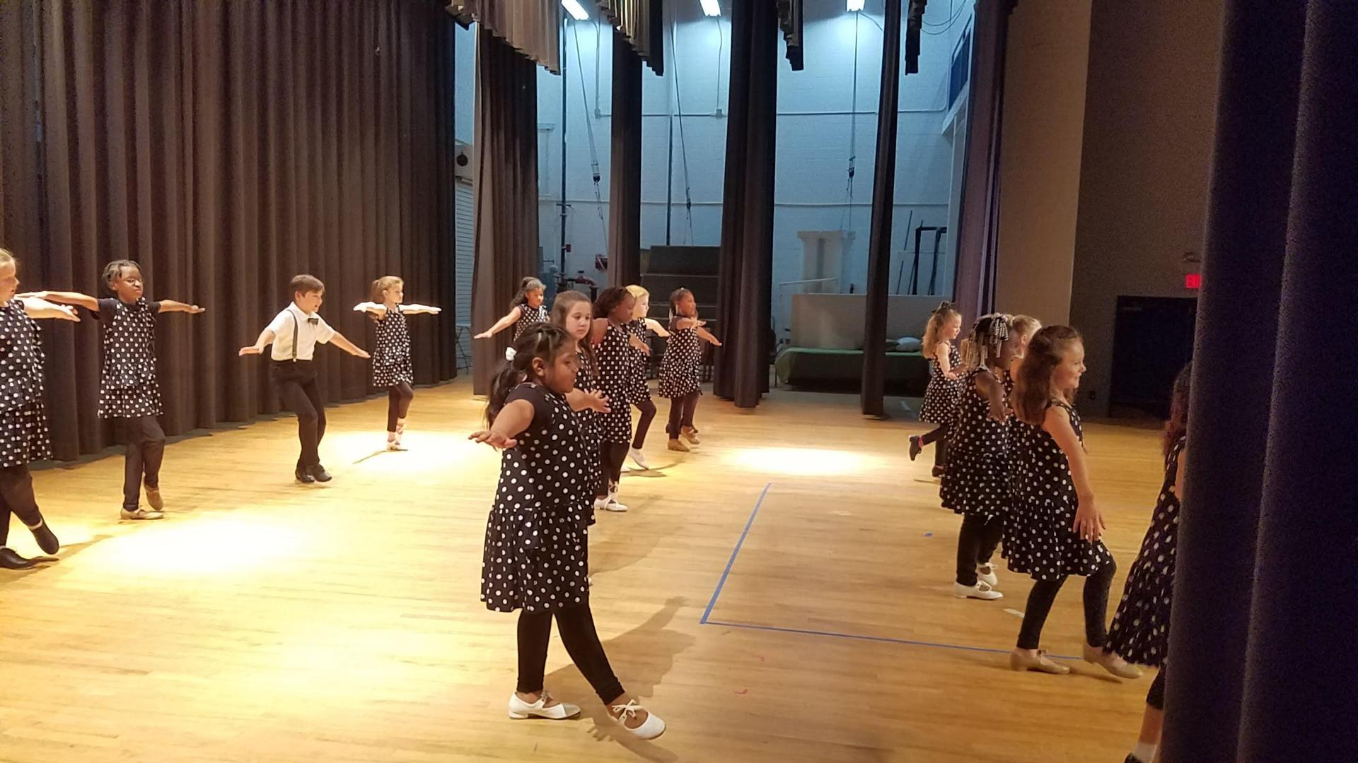 Tap Dance With Junior Dance Company!