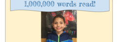 I've read 1,000,000 words this year!