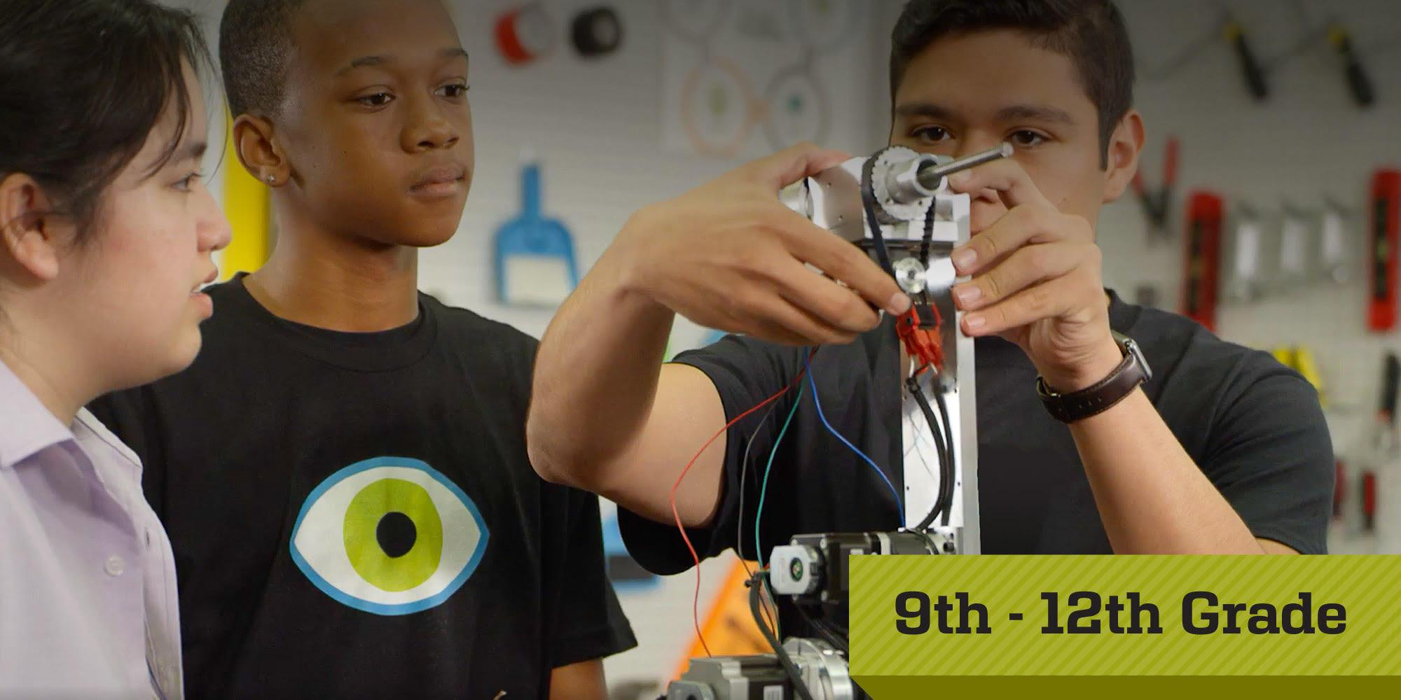 9th - 12th Grade at Urban Discovery Schools