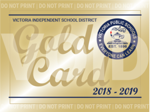 VISD gold card club program