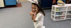 The Easter Bunny has been spotted at EGMS!