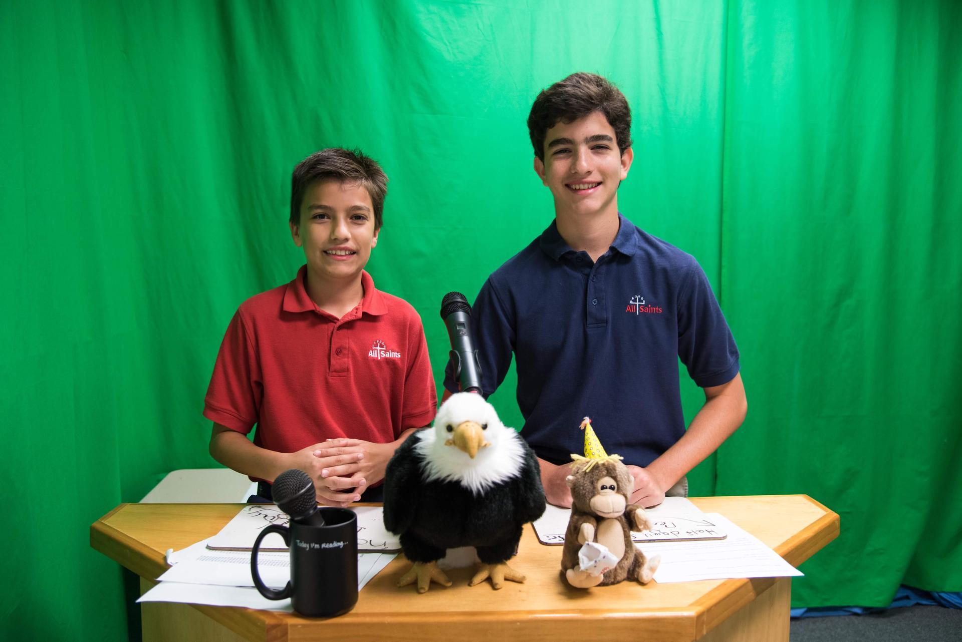 Eagle News Network Crew