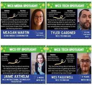 WCS tech department staff!
