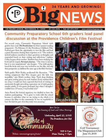 Spring 2018 Newsletter Featured Photo
