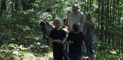 Hiking and fishing opportunities were part of the reward for completing the summer reading challenge.