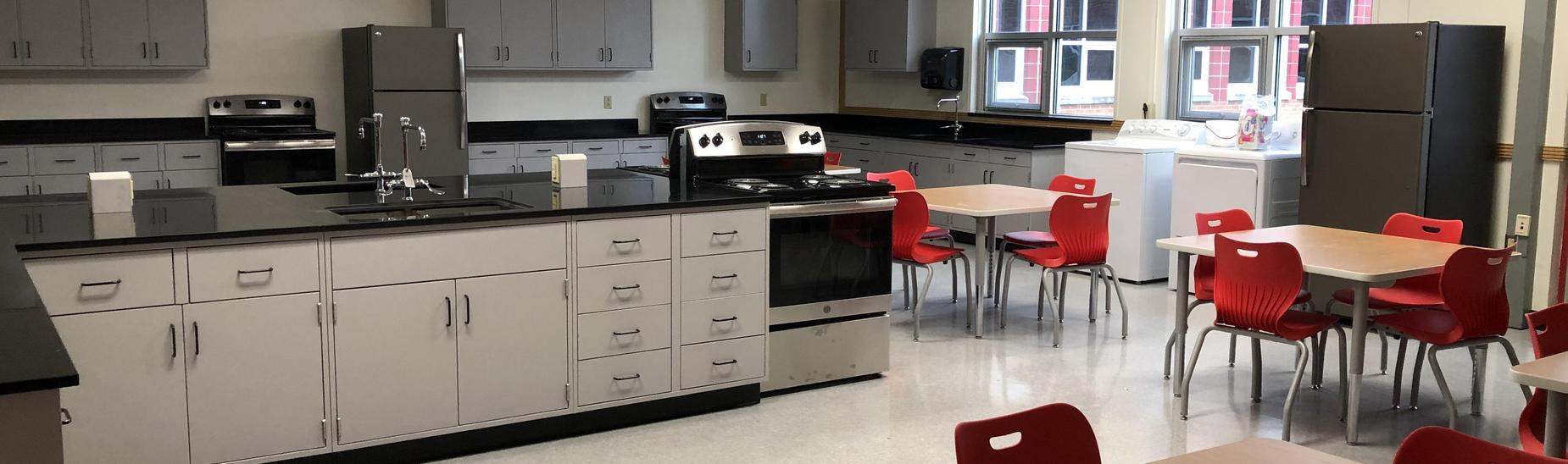 Newly Renovated CHS Family Consumer Science Classroom