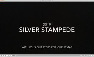 Silver Stampede video screen shot