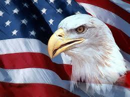 US Flag with Eagle