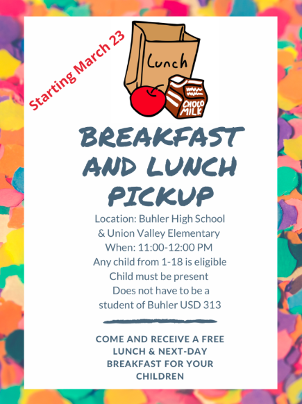 Free Lunch and Breakfast Pickup to Start on Monday Thumbnail Image