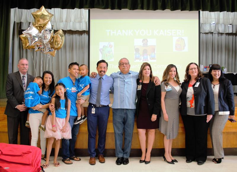 BPUSD Students Receive Backpacks From Kaiser Permanente Featured Photo