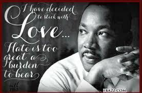 Picture of Dr. King with Quote: