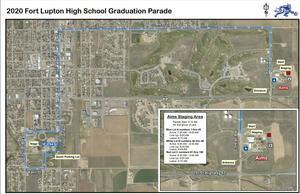 FLHS Graduation Parade Route