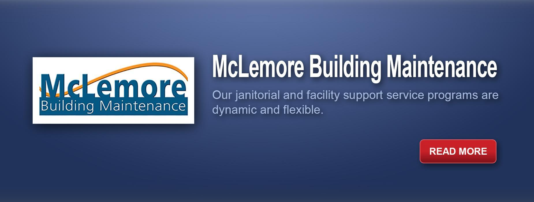 McLemore Building Maintenance - Cleaning, Read more