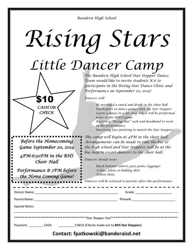 Rising Star Dance Camp