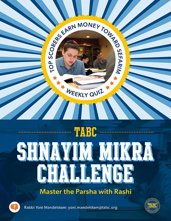 Shnayim Mikra Challenge Thumbnail Image