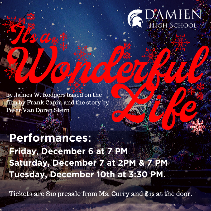 Fall Play: It's A Wonderful Life Featured Photo