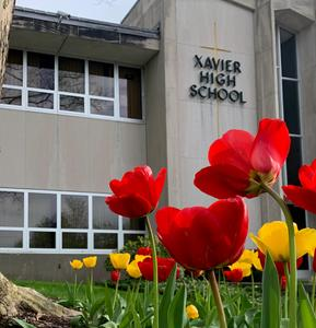 Flowers at Xavier