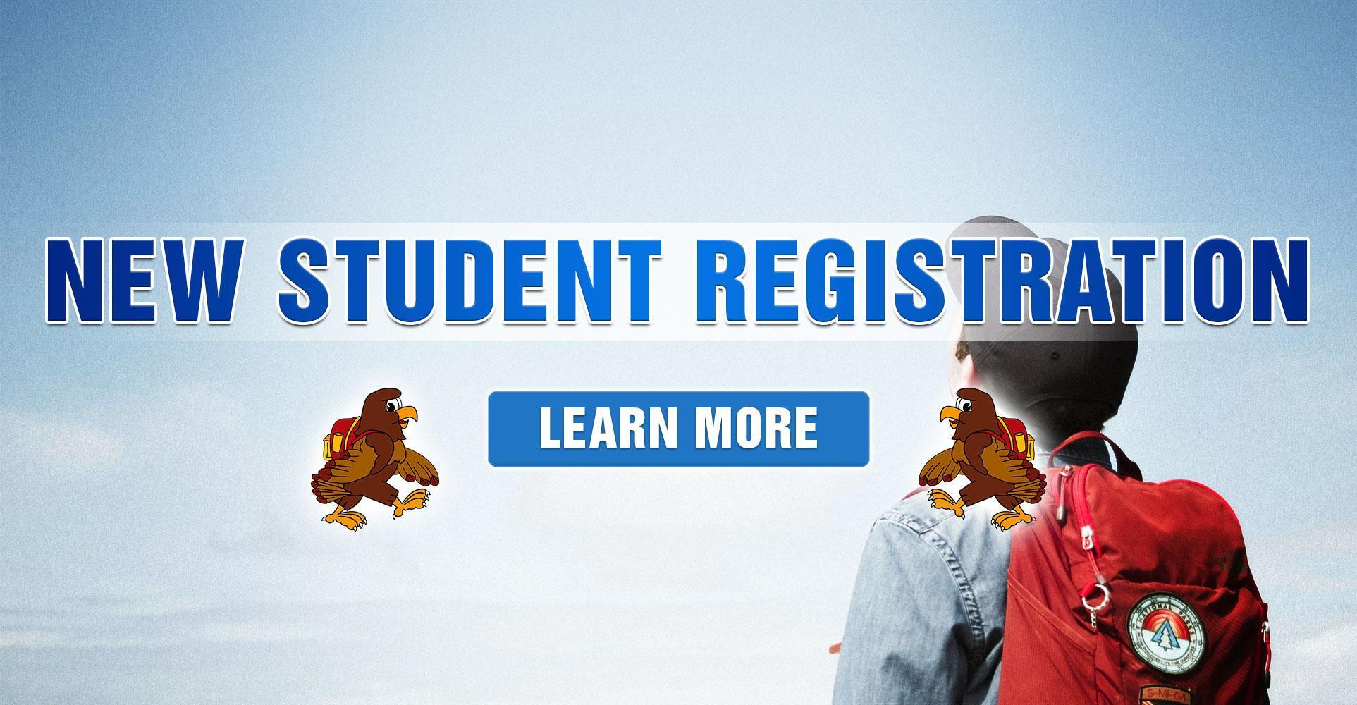 New Student Registration Information