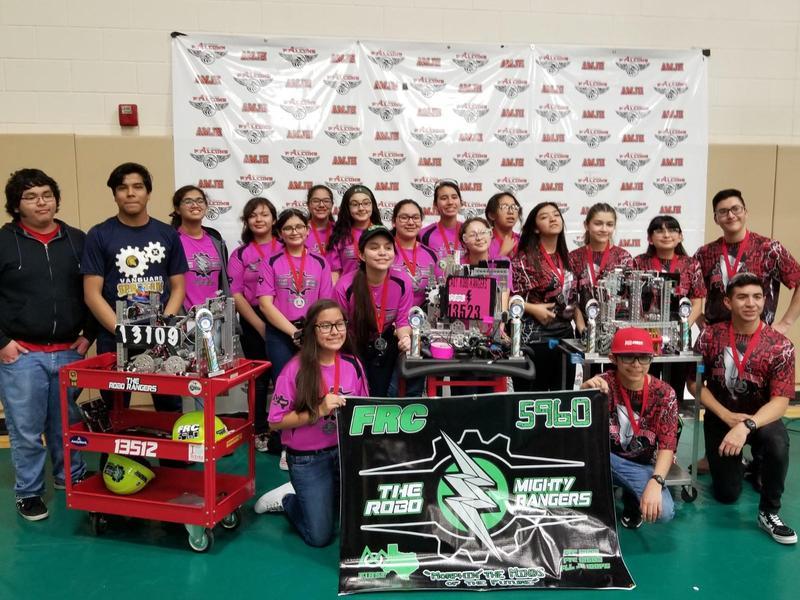 Rembrandt Secondary FTC Robotics Team #13109 is Hawking Winning Alliance Champion! Featured Photo
