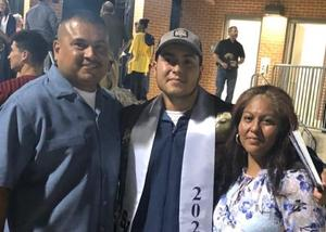 SVHS Vincent Meza and family
