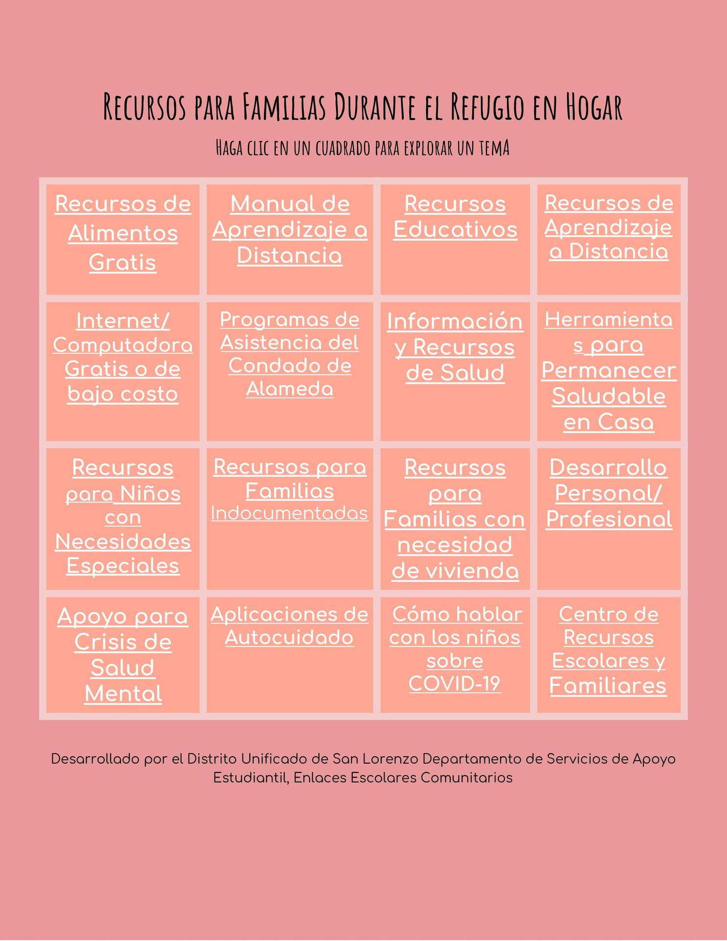 Resource Guide Spanish