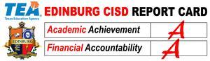 Edinburg CISD Report Card image
