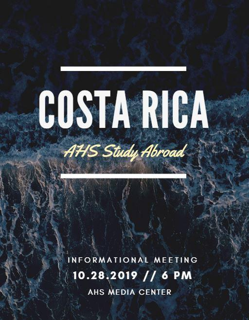Study Abroad in Costa Rica! Featured Photo