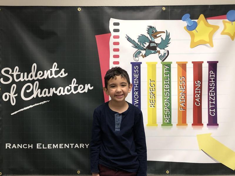 Anthony Nevarez Student of the Month