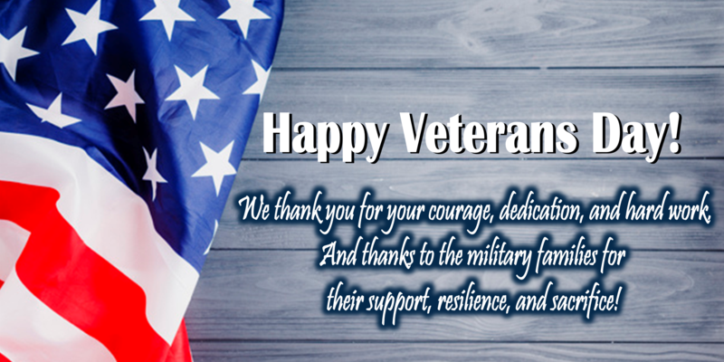 We thank you for your courage, dedication, and hard work. And thanks to the military families for  their support, resilience, and sacrifice!