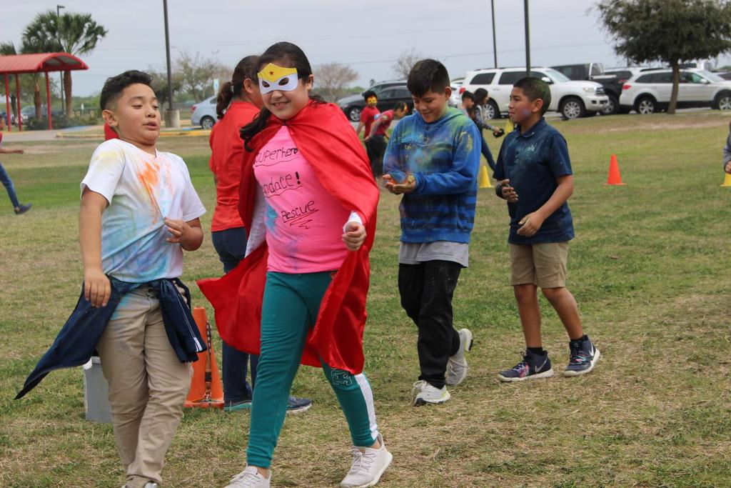 Super Hero Color Run
