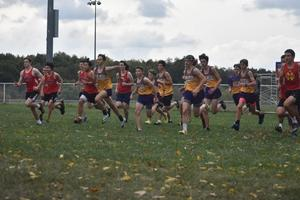 photo of olsh boys cross country