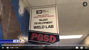 Welding Lab sign