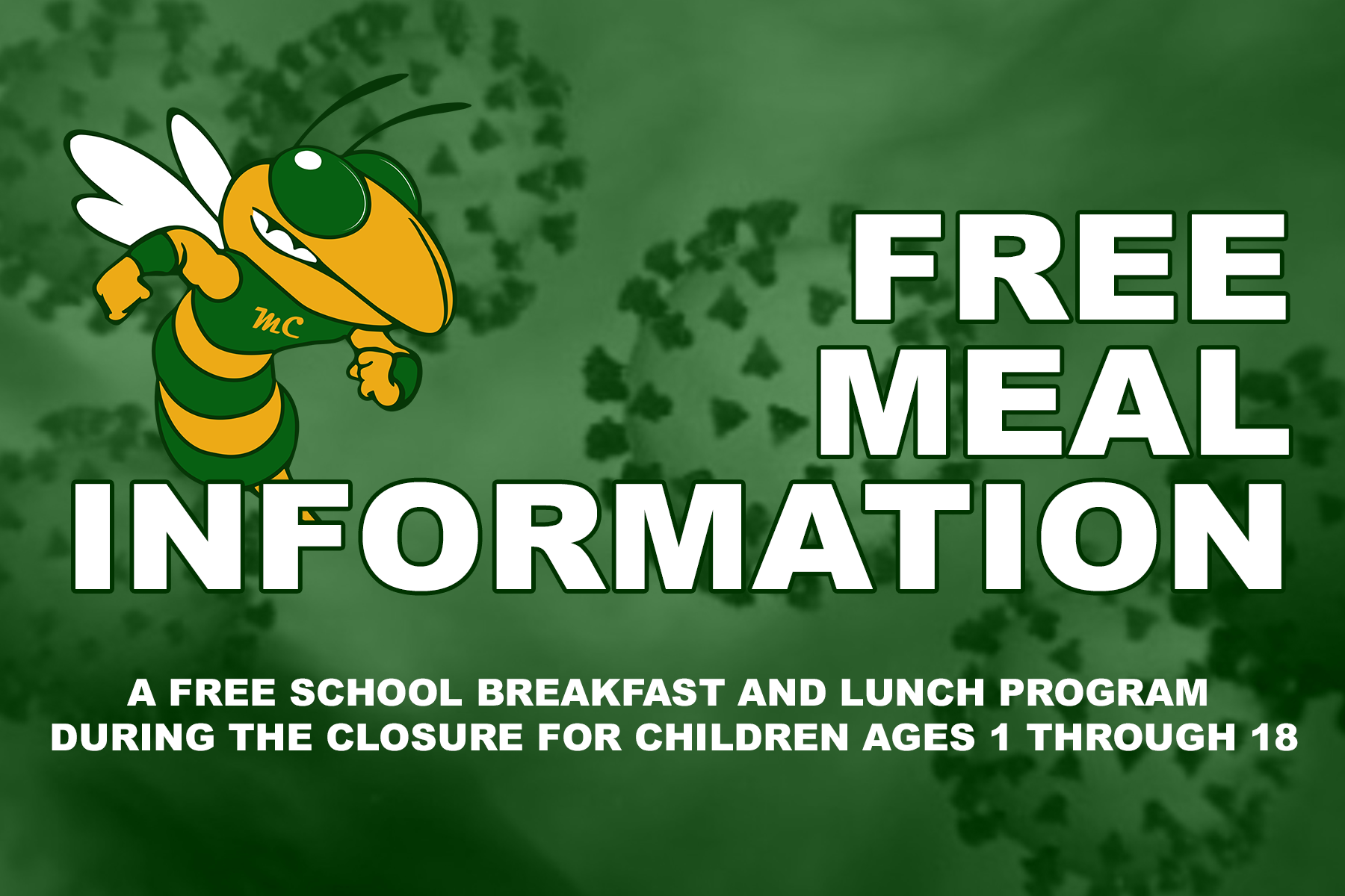 Free Meal Information