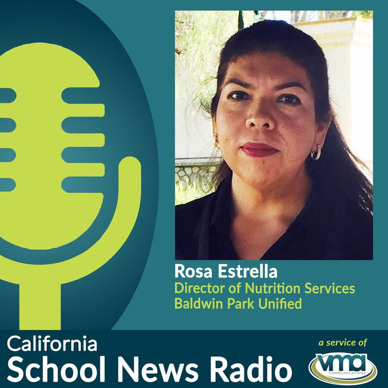 Director of Nutrition Services Rosa Estrella talks about meal services available to students in Baldwin Park.