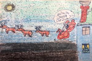DISTRICT CHRISTMAS CARD