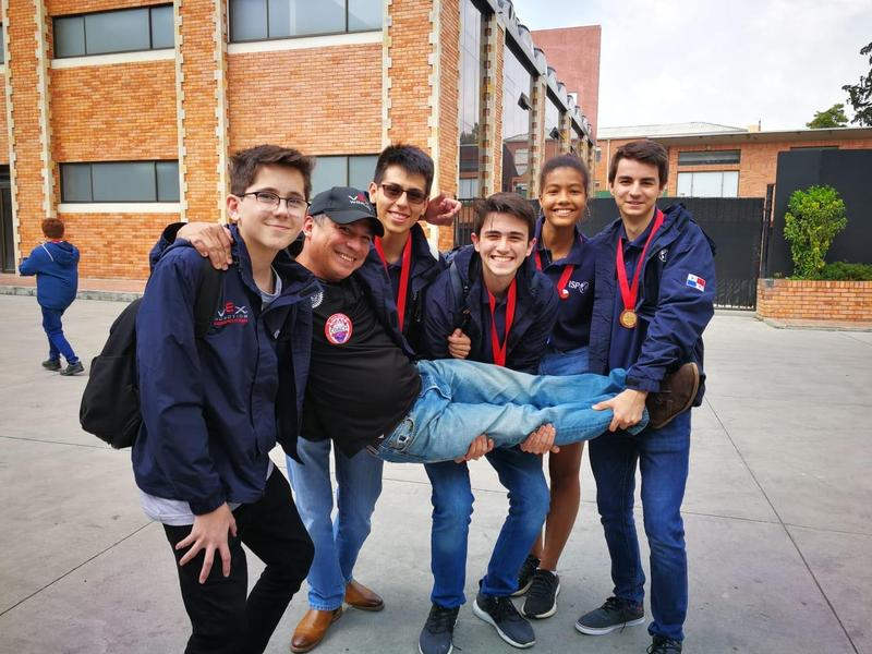 ISP RoboDolphins take medals at Bogota VEX Competition Featured Photo