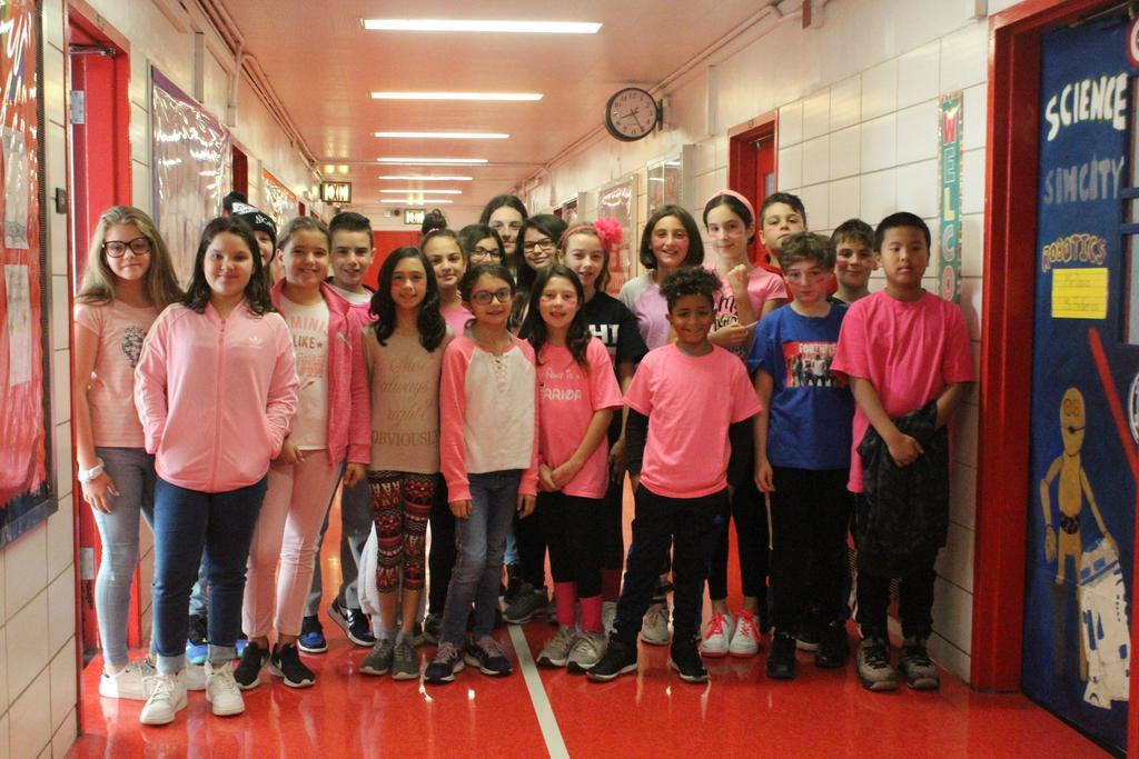 Class 619 wears pink