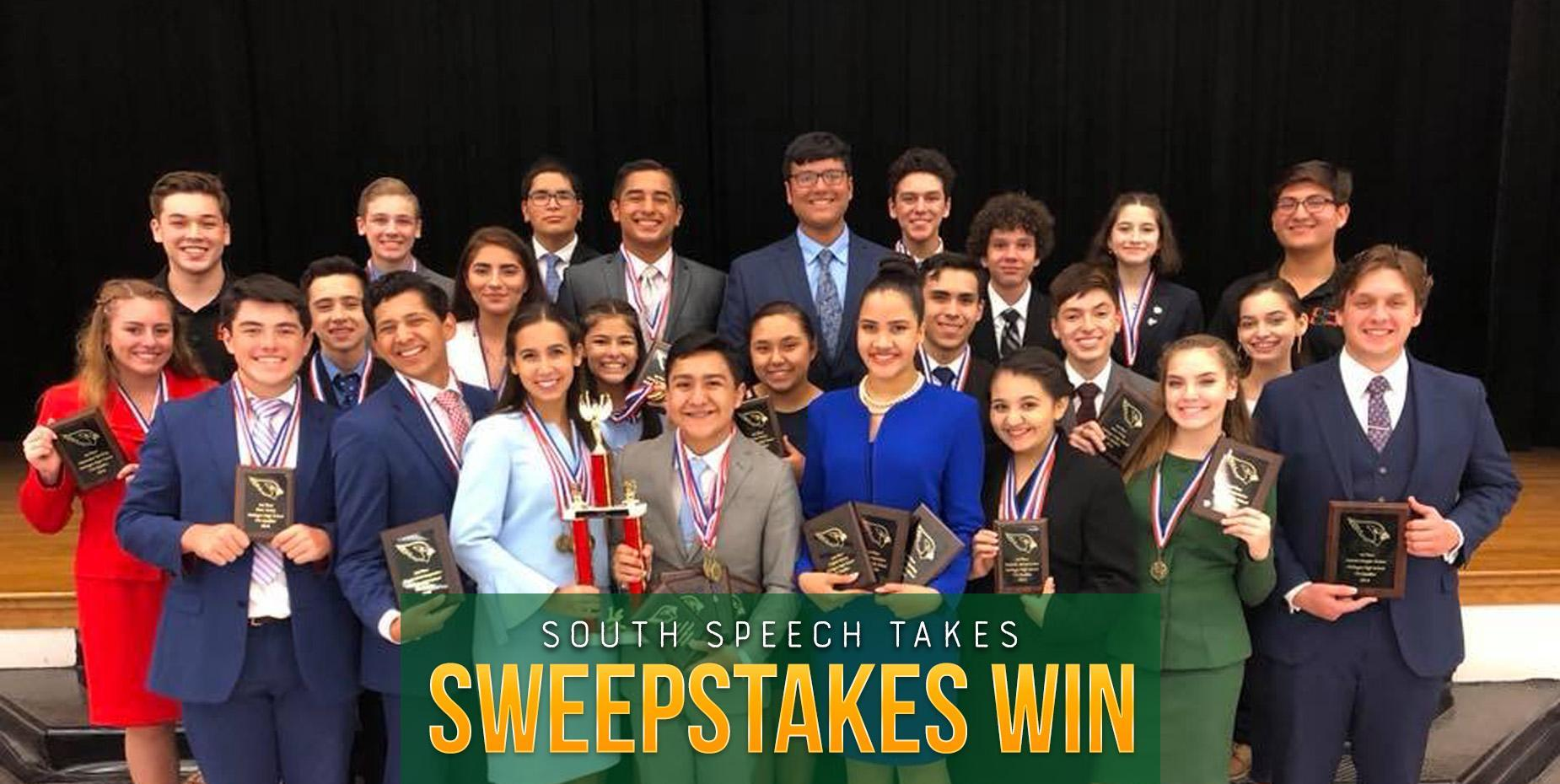 South Speech takes sweepstakes win at first TFA tournament of the season