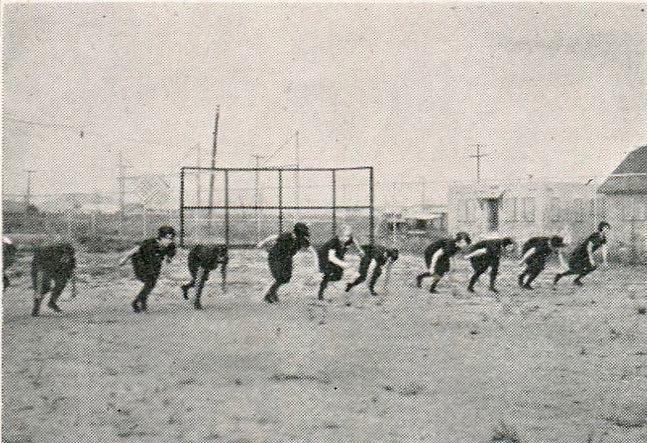 girl's track 1929