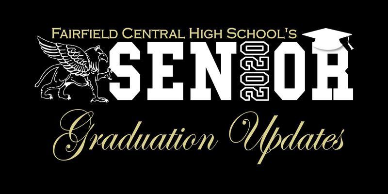 FCHS Senior 2020 Graduation Updates