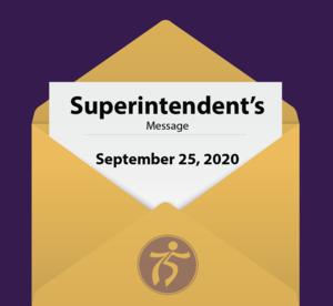 Superintendent Message Graphic